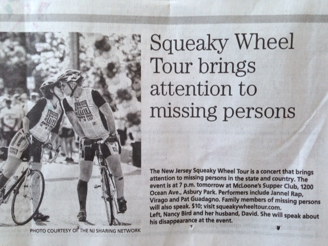 SqueekyWheelTour press article