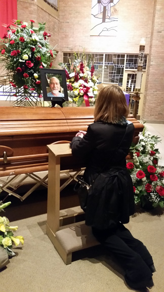 Goodbye prayers - March 25, 2015